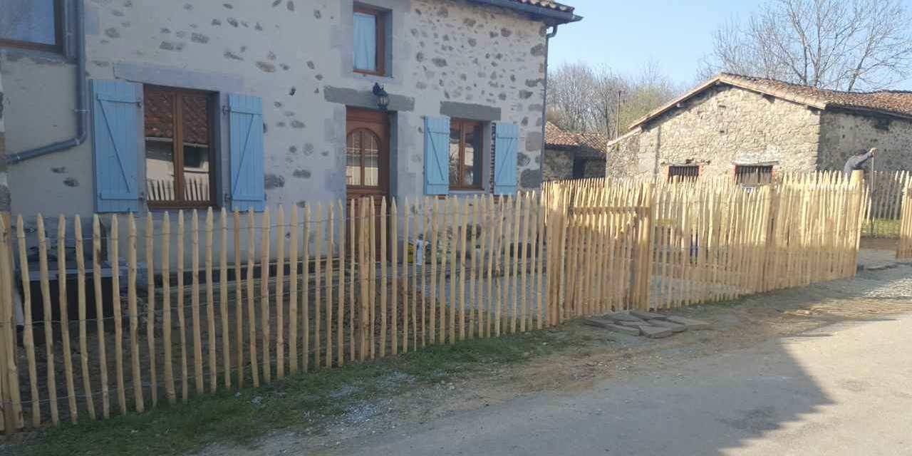 MB Paysage clôtures Nord Charente