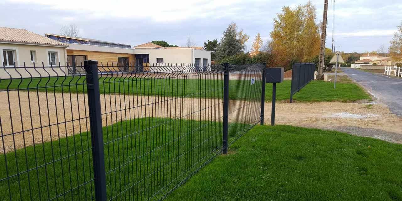 MB Paysage clôtures paysagiste Nord Charente