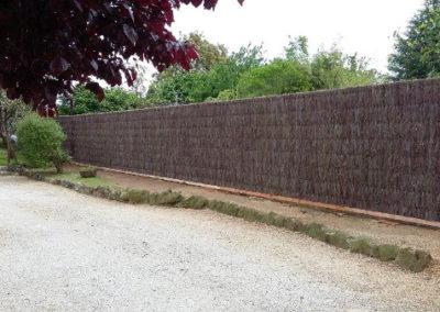clôture brande du Poitou